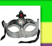 Silver Shimmer Venetian Masquerade Mask