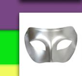 Silver Venetian Masquerade Mask
