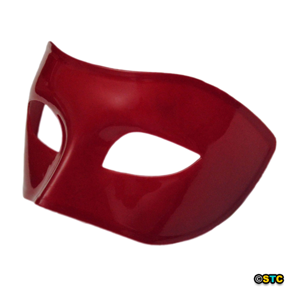 Burgundy Red Venetian Masquerade Mask