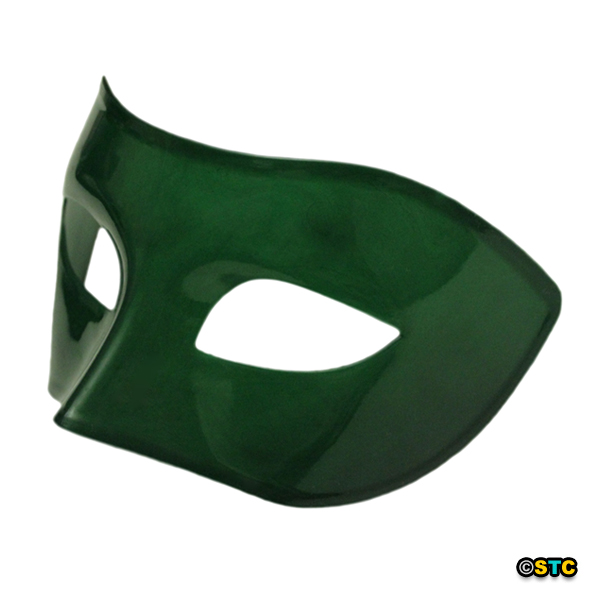 Green Venetian Masquerade Mask